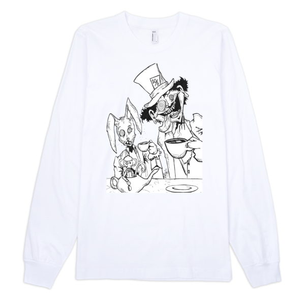 Tea Party Long Sleeve T-shirt (unisex) - Finnigan Note - 2