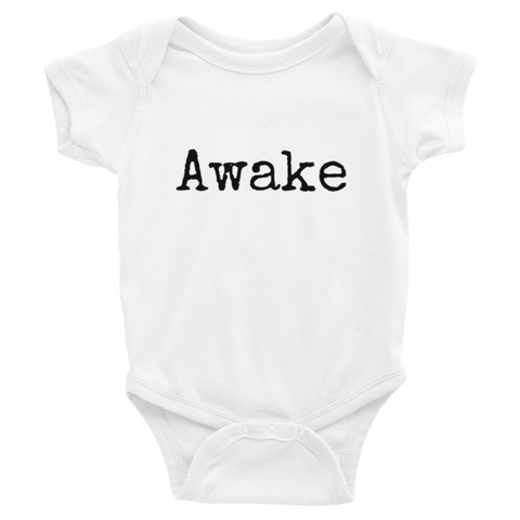 Awake Infant short sleeve one-piece - Finnigan Note - 1