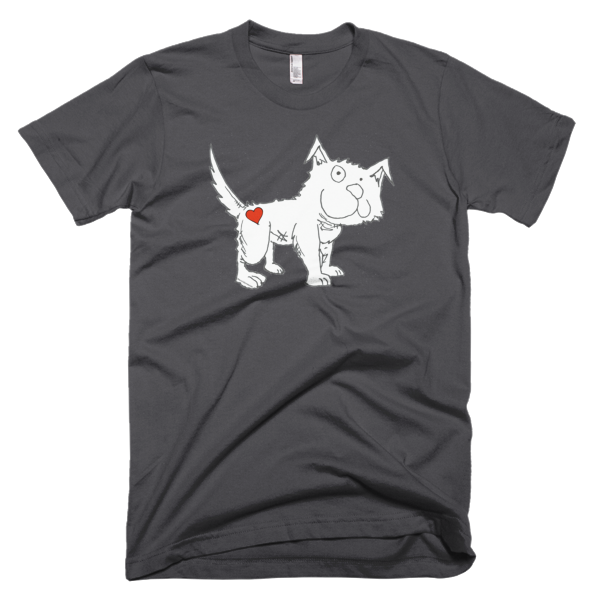 Trust Love Dog men's t-shirt - Finnigan Note - 4
