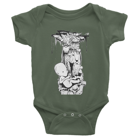 Birth Infant short sleeve one-piece - Finnigan Note - 1