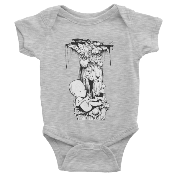 Birth Infant short sleeve one-piece - Finnigan Note - 4