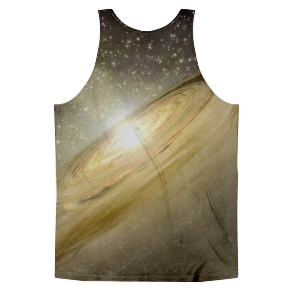 Golden Galaxy Classic fit tank top (unisex) - Finnigan Note - 2