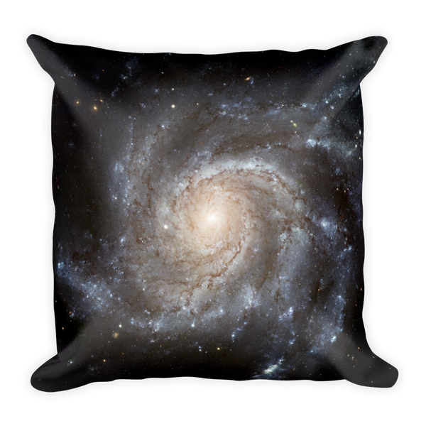 Spiral Galaxy Pillow - Finnigan Note - 2