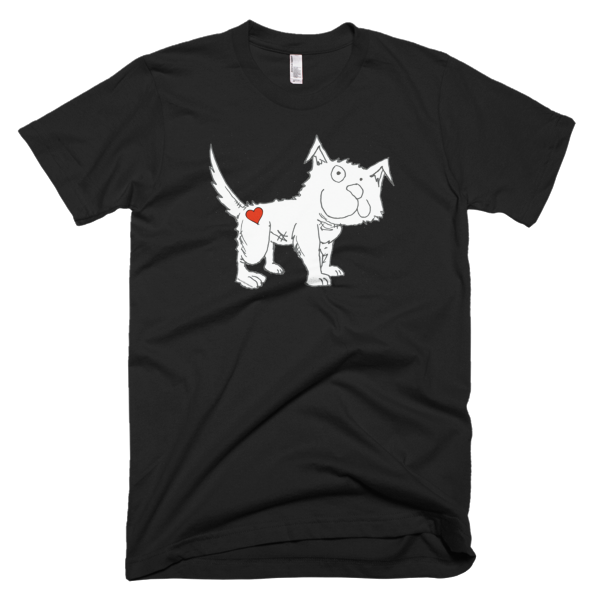 Trust Love Dog men's t-shirt - Finnigan Note - 1