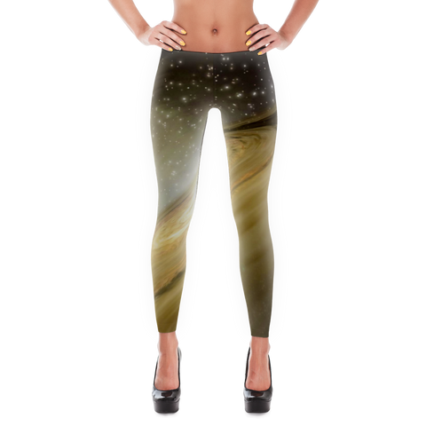 Golden Galaxy Leggings - Finnigan Note - 1