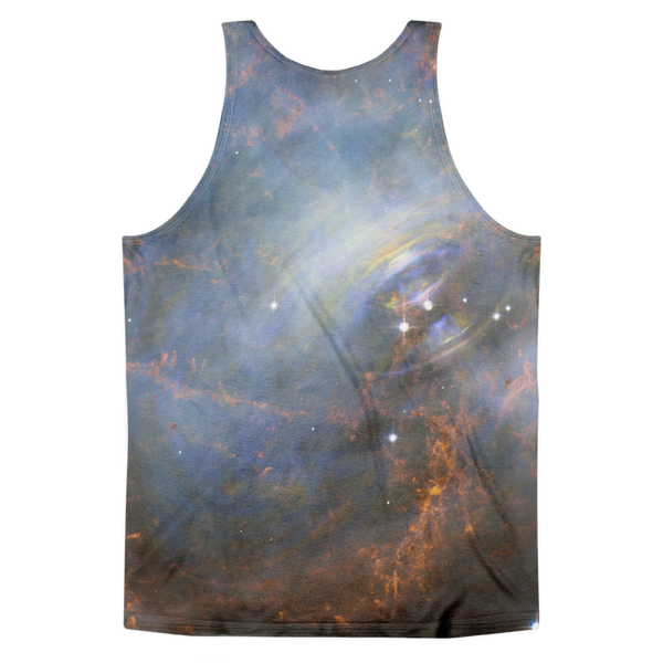 Crab Nebula Classic fit tank top (unisex) - Finnigan Note - 2