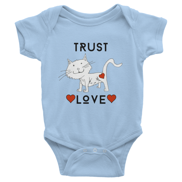 Trust Love Cat one-piece - Finnigan Note - 4