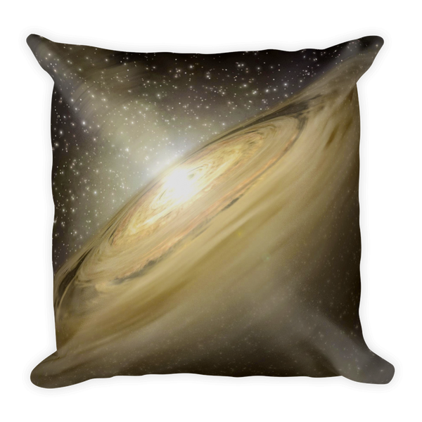 Golden Galaxy Pillow - Finnigan Note - 2