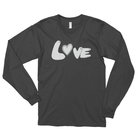 Trust LOVE Long Sleeve T-Shirt t-shirt (unisex) - Finnigan Note - 1