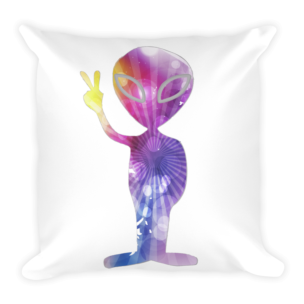 Specail Cosmic Alien Double Sided Pillow - Finnigan Note - 1