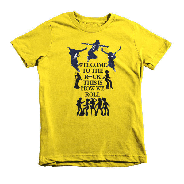 Welcome to the Rock Kids T-shirt - Finnigan Note - 6
