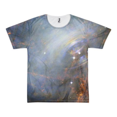 Crab Nebula Short sleeve t-shirt (unisex) - Finnigan Note - 1