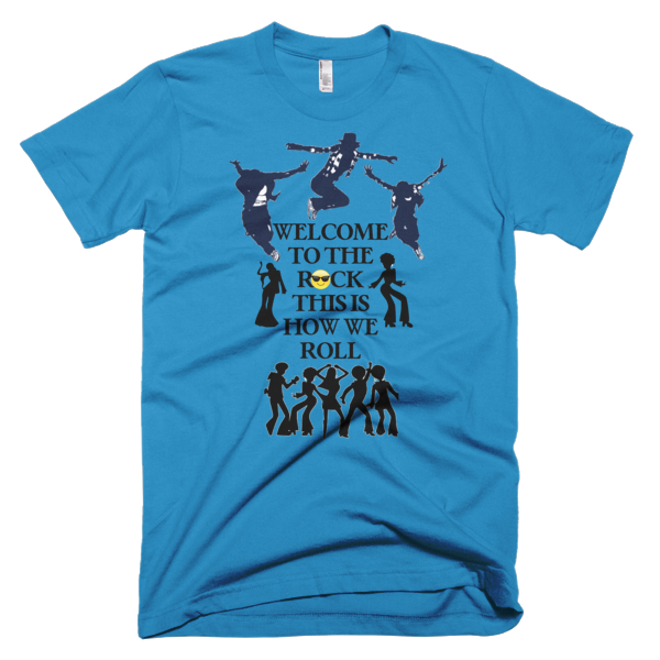 Welcome To The Rock Men's T-shirt - Finnigan Note - 6