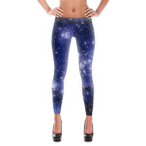 Blue Stars Leggings - Finnigan Note - 1