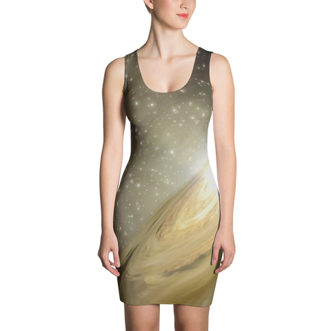 Golden Galaxy Dress - Finnigan Note - 1