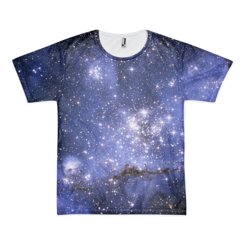 Blue Stars Short sleeve men's t-shirt (unisex) - Finnigan Note - 1