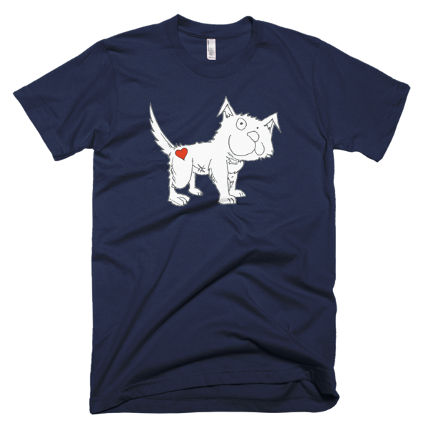 Trust Love Dog men's t-shirt - Finnigan Note - 5