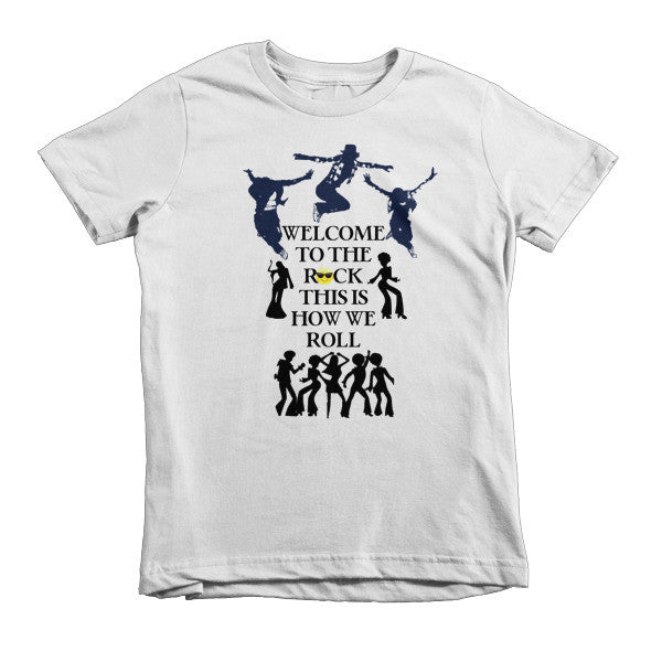 Welcome to the Rock Kids T-shirt - Finnigan Note - 1