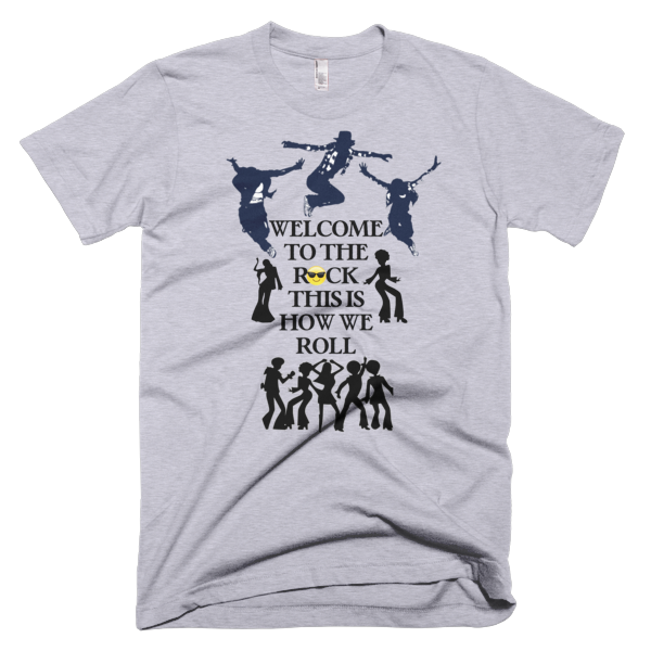 Welcome To The Rock Men's T-shirt - Finnigan Note - 2