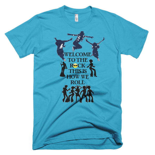 Welcome To The Rock Men's T-shirt - Finnigan Note - 7