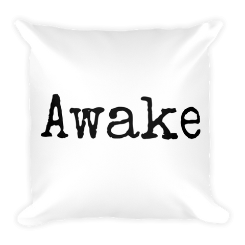 Awake Pillow - Finnigan Note