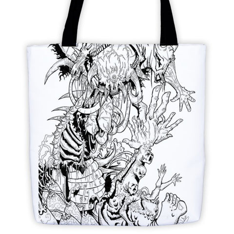 Tarnsforming by Roger Plymale Tote bag - Finnigan Note