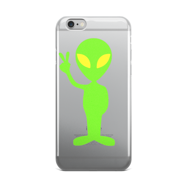 Peace Alien iPhone Case iPhone case - Finnigan Note - 1