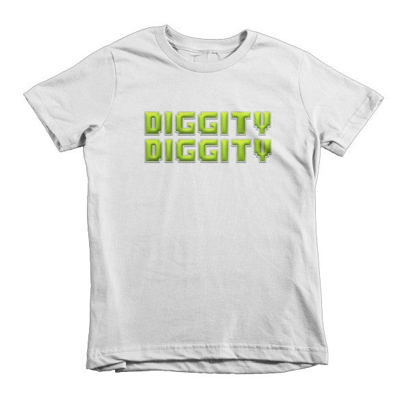 Diggity Diggity kids t-shirt - Finnigan Note - 1