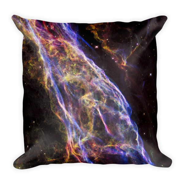 Veil Supernova Remnant Pillow - Finnigan Note - 2