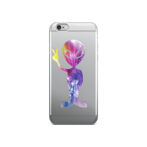 Rainbow Alien iPhone case - Finnigan Note - 3