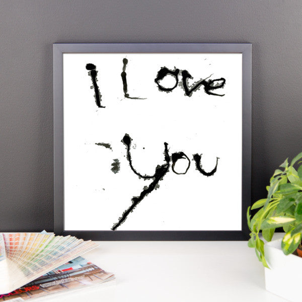 I Love You - Framed Poster - Finnigan Note - 6