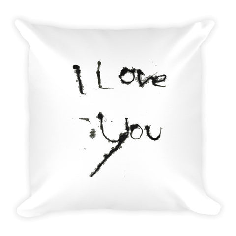 I Love You Pillow - Finnigan Note
