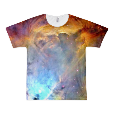 Orion Nebula Short sleeve t-shirt (unisex) - Finnigan Note - 1