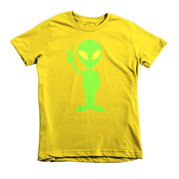 Peace Out Alien kids t-shirt - Finnigan Note - 6