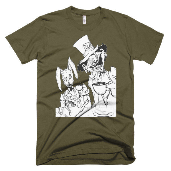 Tea Party by Roger Plymale men's t-shirt - Finnigan Note - 4