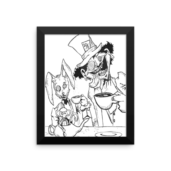Tea Party by Roger Plymale Framed Poster - Finnigan Note - 3