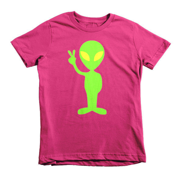 Peace Out Alien kids t-shirt - Finnigan Note - 8