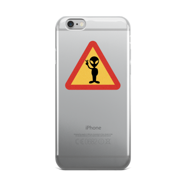 Alien iPhone Case - Finnigan Note - 1