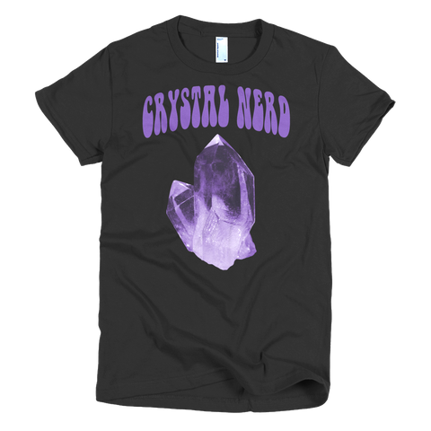 Crystal Nerd women's t-shirt - Finnigan Note - 1