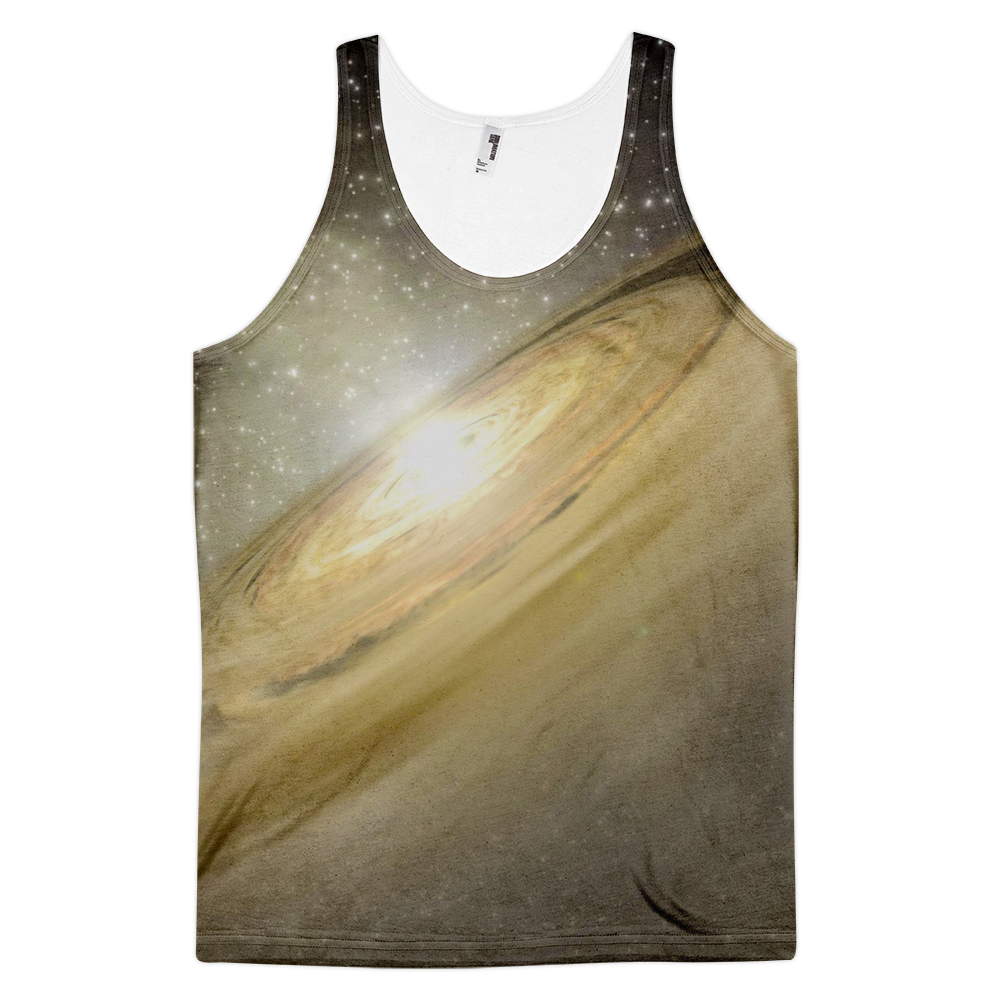 Golden Galaxy Classic fit tank top (unisex) - Finnigan Note - 1