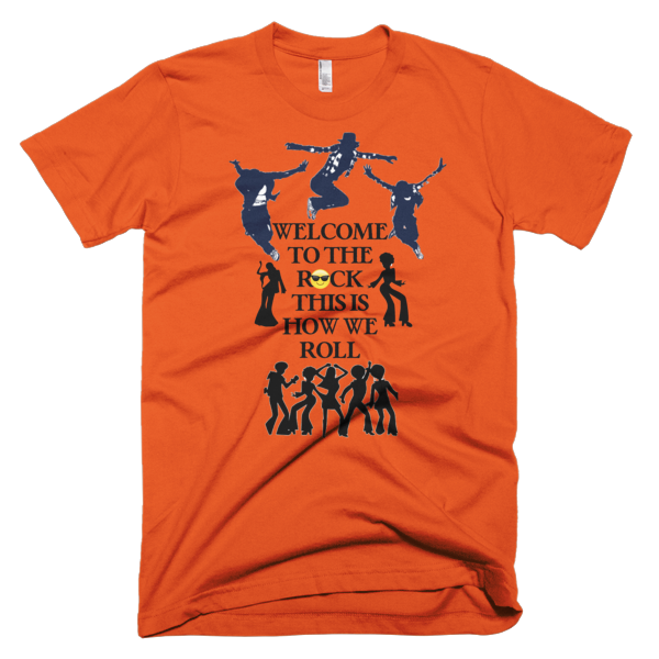 Welcome To The Rock Men's T-shirt - Finnigan Note - 8