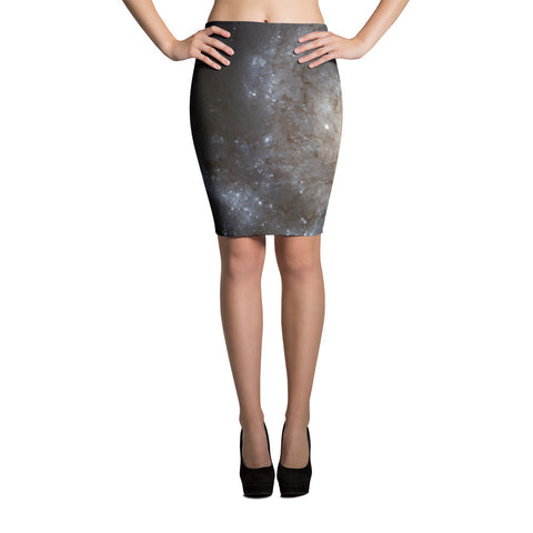 Spiral Galaxy Pencil Skirt - Finnigan Note - 1