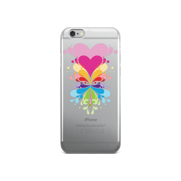 Expansive Heart iPhone case - Finnigan Note - 2