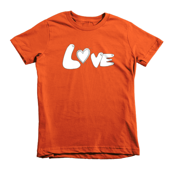 Trust LOVE Short sleeve kids t-shirt - Finnigan Note - 6