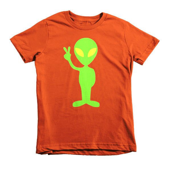 Peace Out Alien kids t-shirt - Finnigan Note - 7