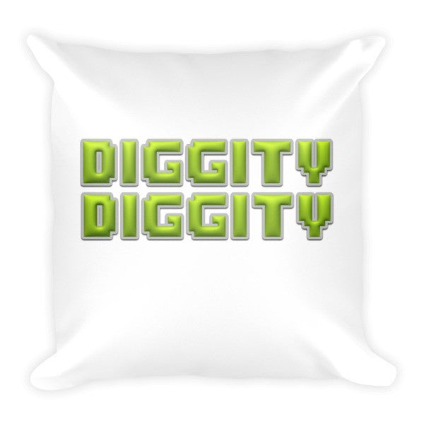 Diggity Diggity Pillow - Finnigan Note