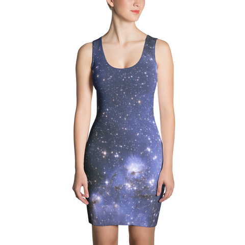 Blue Stars Dress - Finnigan Note - 1