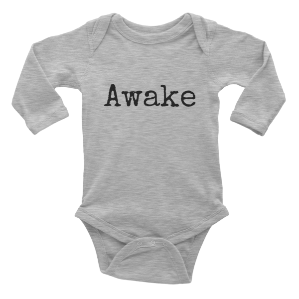 Awake Infant long sleeve one-piece - Finnigan Note - 2