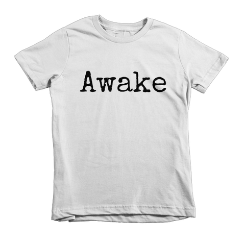 Awake Short sleeve kids t-shirt - Finnigan Note - 1