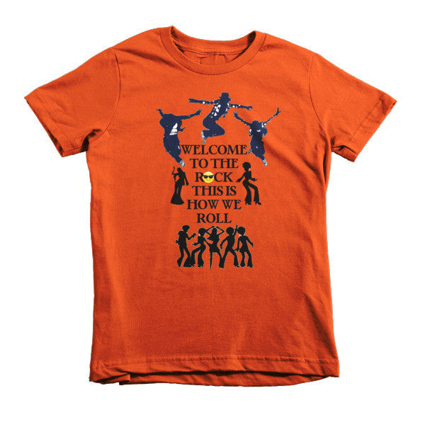 Welcome to the Rock Kids T-shirt - Finnigan Note - 7